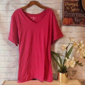 Casual Pink Tee